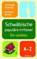 Schwäbische populäre Irrtümer