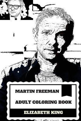 Martin Freeman Adult Coloring Book