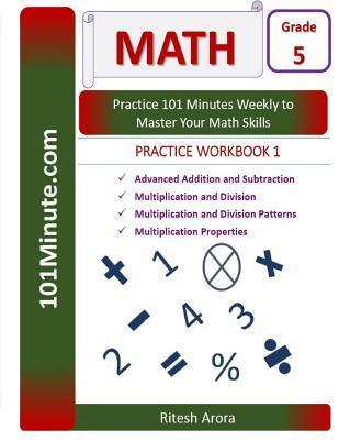 101minute.com Math Practice Workbook, Grade 5