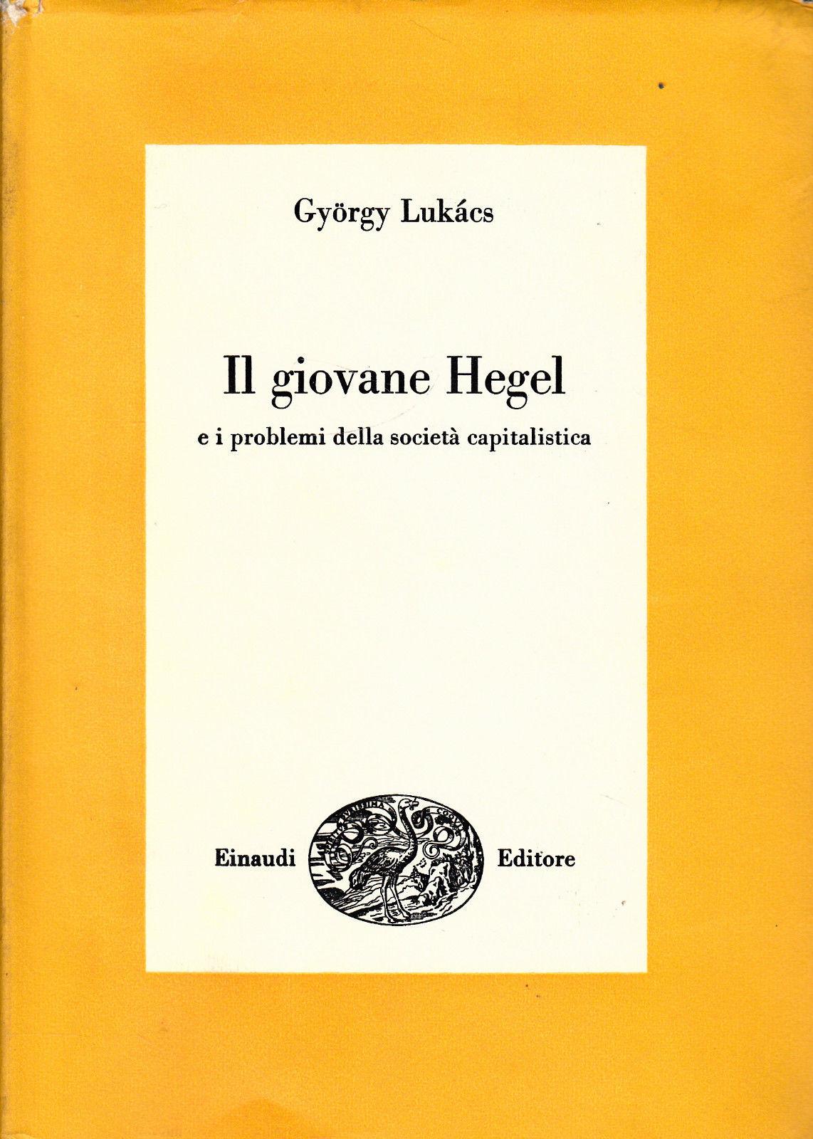 Il giovane Hegel e i...