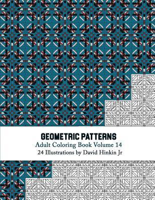 Geometric Patterns - Adult Coloring Book Vol. 14
