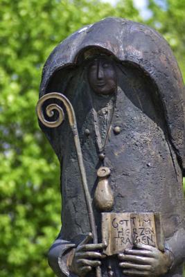 Rustic Shepherd Statue Journal
