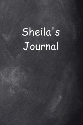Sheila Personalized Name Journal