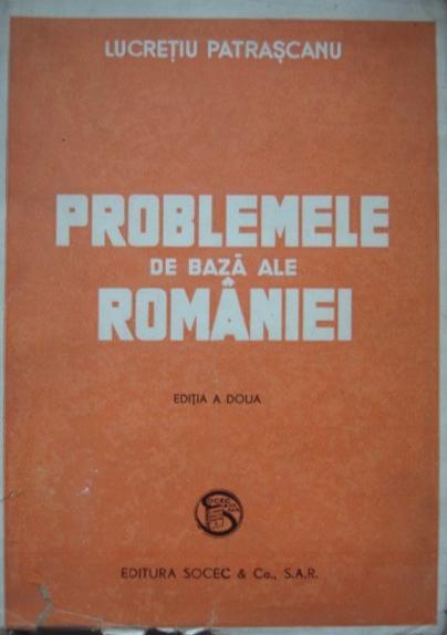 Problemele de bază ale României