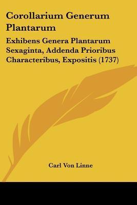 Corollarium Generum Plantarum