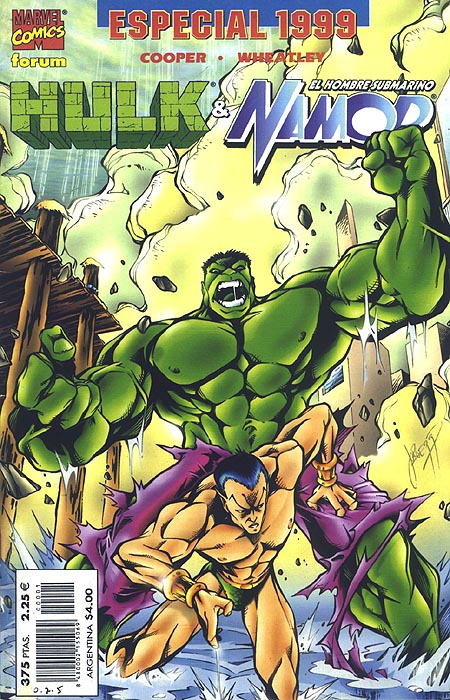 Hulk & Namor Especia...