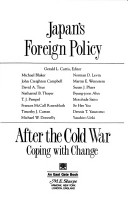 Japan's foreign policy after the Cold War