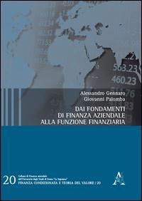 Dai fondamenti di finanza aziendale alla funzione finanziaria