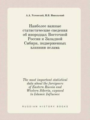 The Most Important Statistical Data about the Foreigners of Eastern Russia and Western Siberia, Exposed to Islamic Influence