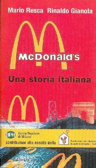 Mc Donald's. Una storia italiana