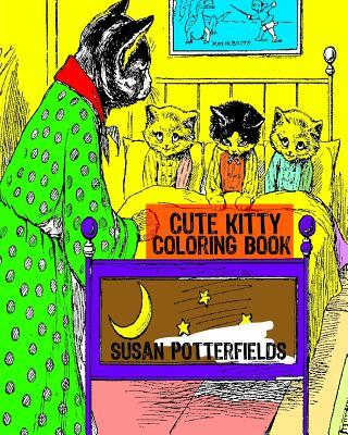 Cute Kitty Coloring Book