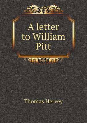 A Letter to William Pitt