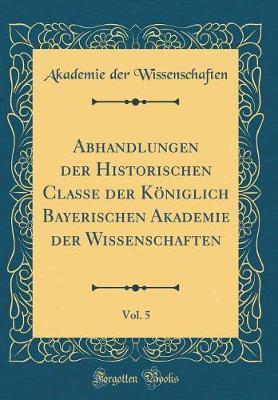 Abhandlungen Der His...