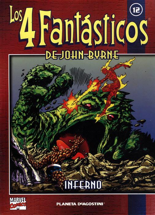 Coleccionable Los 4 Fantásticos de John Byrne #12 (de 25)