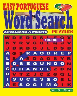 Easy Portuguese Word Search Puzzles