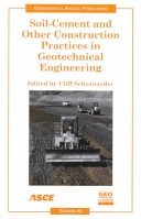 Soil-cement and other construction practices in geotechnical engineering