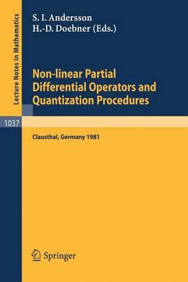 Non-linear Partial Differential Operators and Quantization Procedures