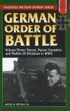 German Order of Battle Volume Three