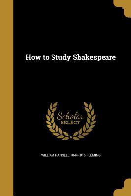 HT STUDY SHAKESPEARE