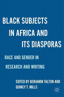Black Subjects in Africa and Its Diasporas