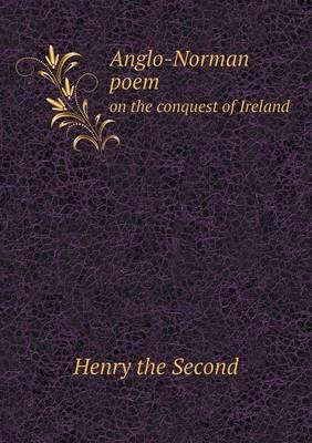 Anglo-Norman Poem on the Conquest of Ireland