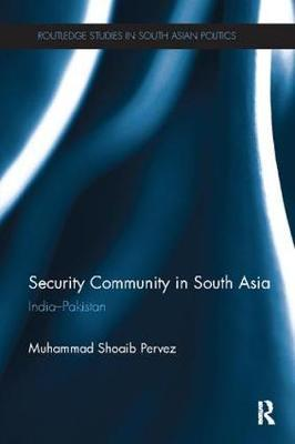 Security Community in South Asia