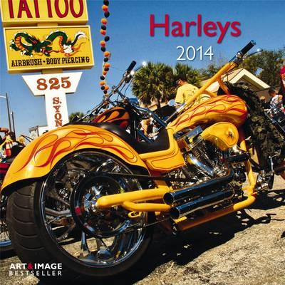 Harleys 2014 Broschürenkalender