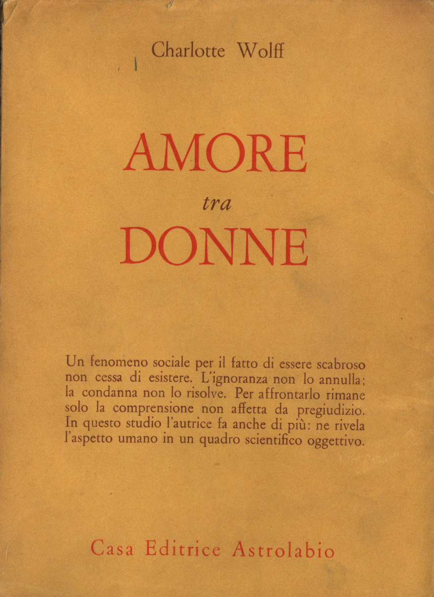Amore tra donne