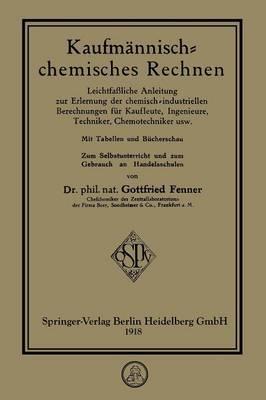 Kaufmännisch-Chemisches Rechnen