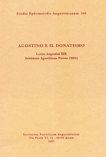 Agostino e il Donati...