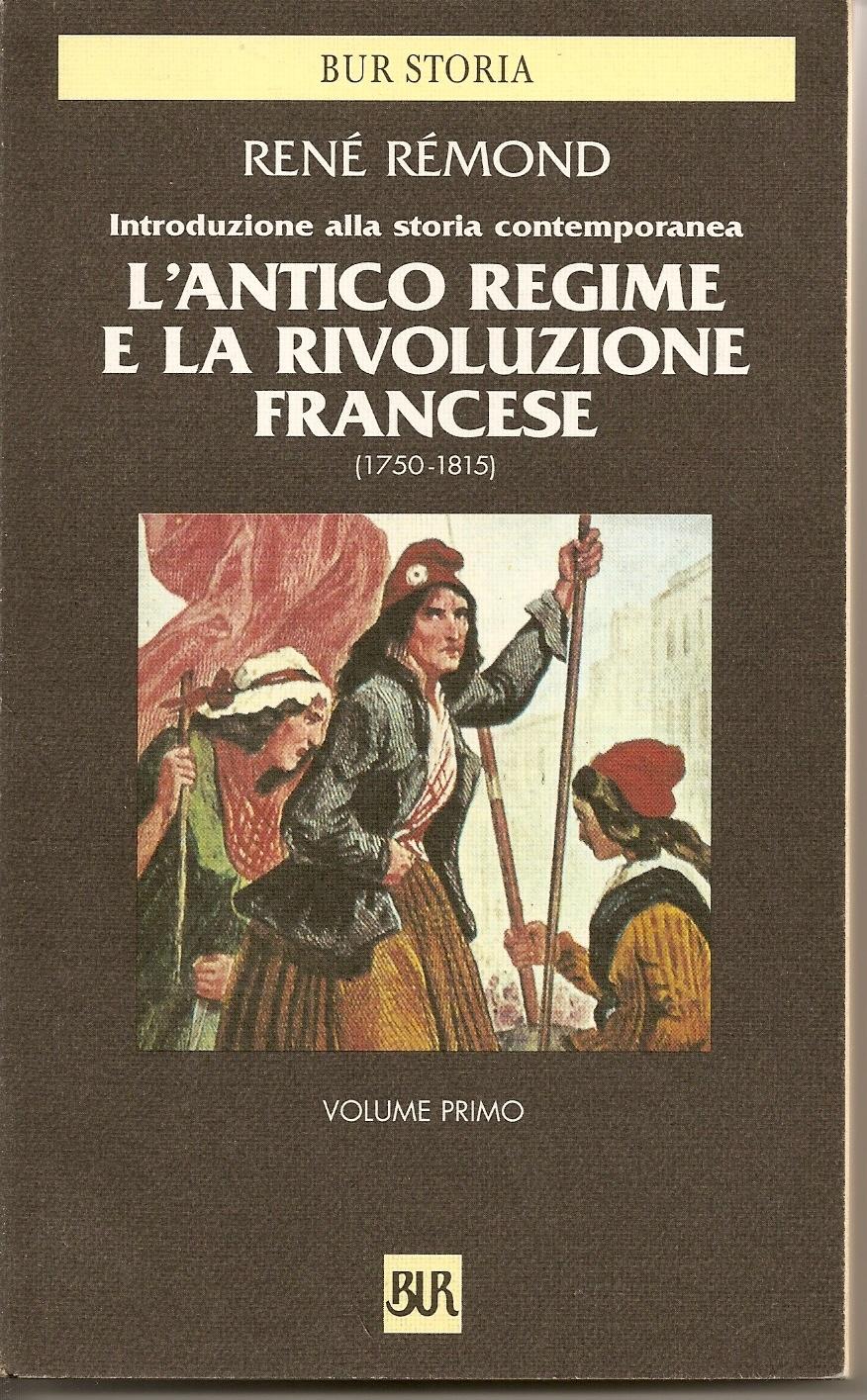 L'Antico regime e la Rivoluzione francese (1750-1815)