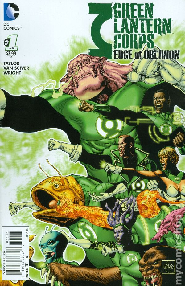Green Lantern Corps: Edge of Oblivion Vol.1 #1