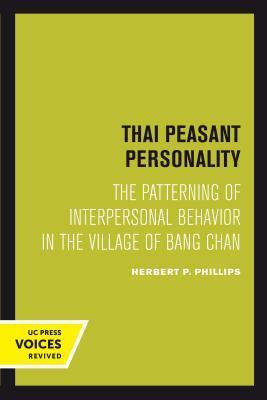 Thai Peasant Personality