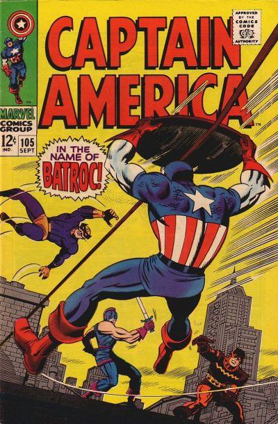 Captain America vol.1 #105