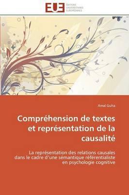 Comprehension de Textes et Représentation de la Causalite