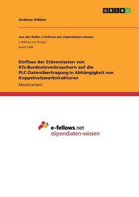 Einfluss der Störemission von Kfz-Bordnetzverbrauchern auf die PLC-Datenübertragung in Abhängigkeit von Koppelnetzwerkstrukturen