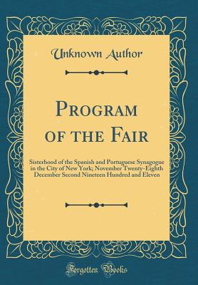 Program of the Fair