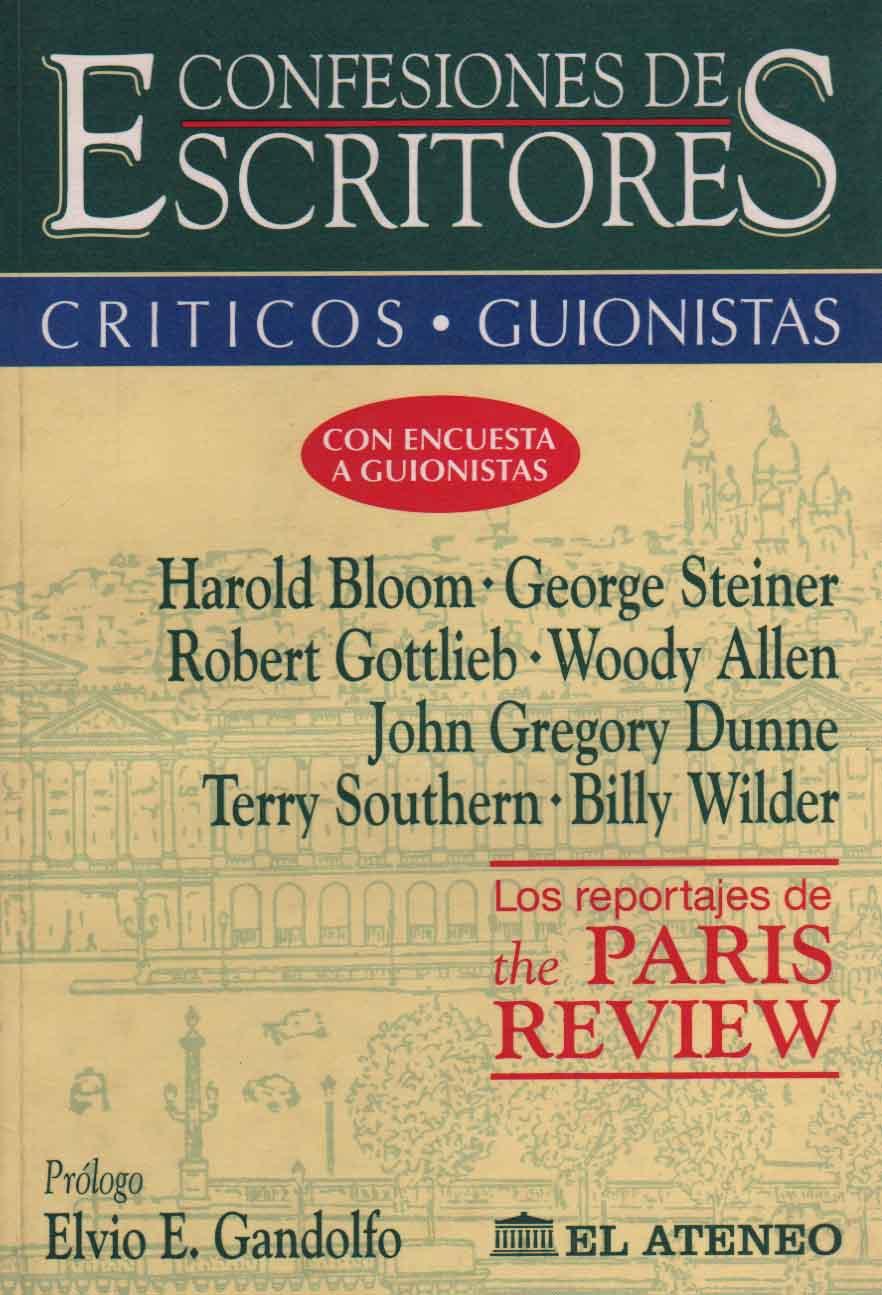 Confesiones de Escritores - Criticos y Guionistas