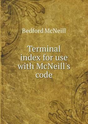 Terminal Index for Use with McNeill's Code