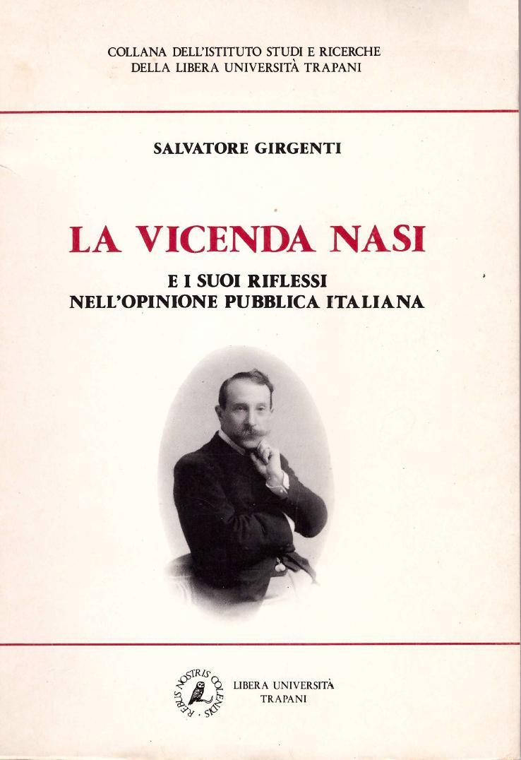 La vicenda Nasi e i suoi riflessi nell'opinione pubblica italiana