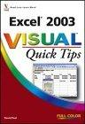 Excel 2003 Visual Quick Tips