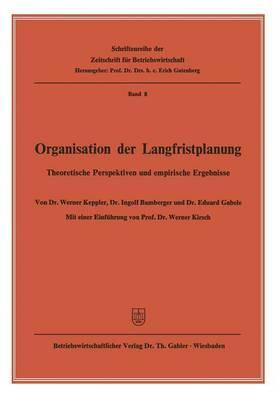 Organisation Der Langfristplanung