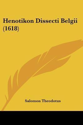 Henotikon Dissecti Belgii (1618)