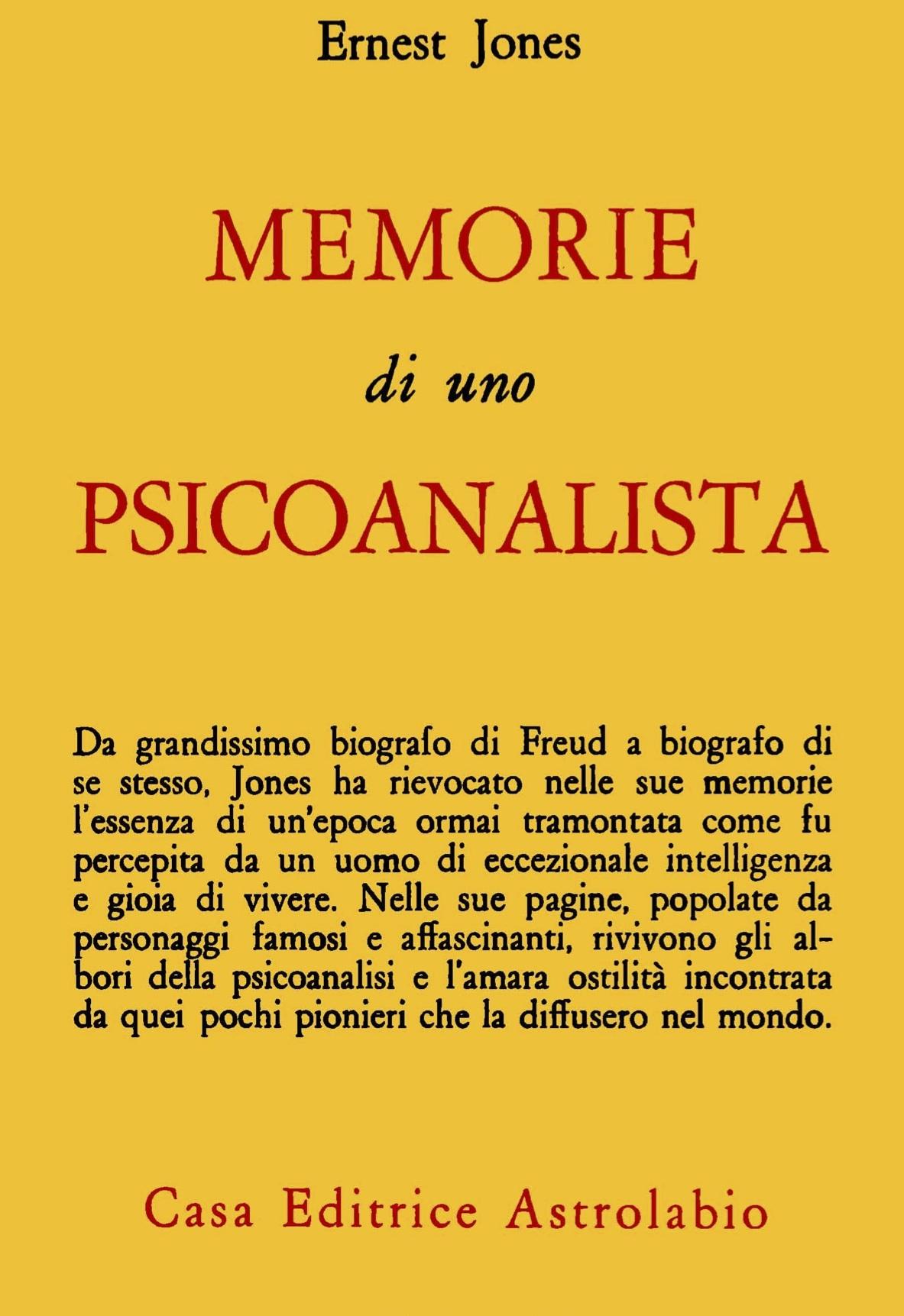 Memorie di uno psicoanalista