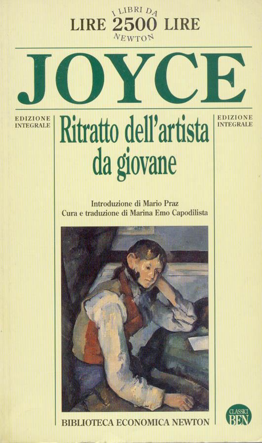 Ritratto dell'artista da giovane