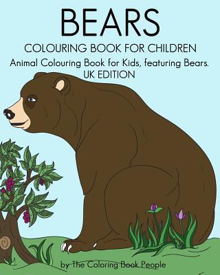 Bears Colouring Book for Children