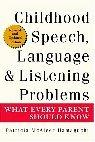 Childhood Speech, Language & Listening Problems