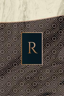 Monogram R Notebook