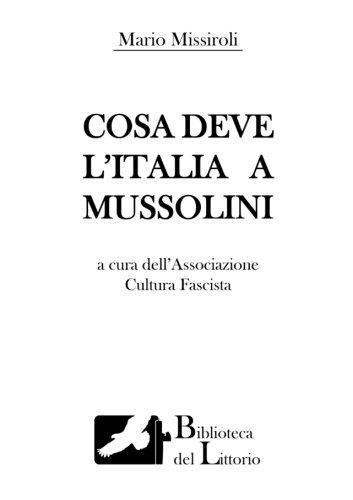Cosa deve l'Italia a...