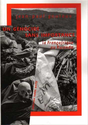 Un génocide sans importance